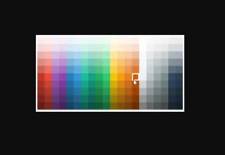 Color Selector For Angular 5+