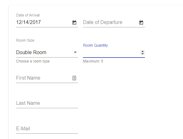 NG Dynamic Forms