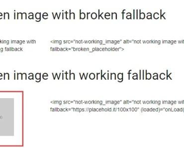Angular 5+ Image Fallback Component