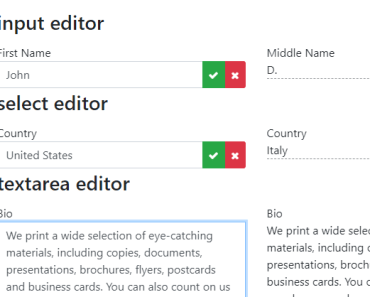Simple Inline Editor For Angular