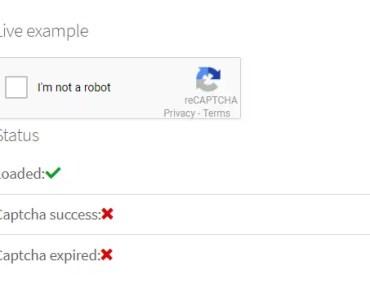 Google reCaptcha Component For Angular 6+