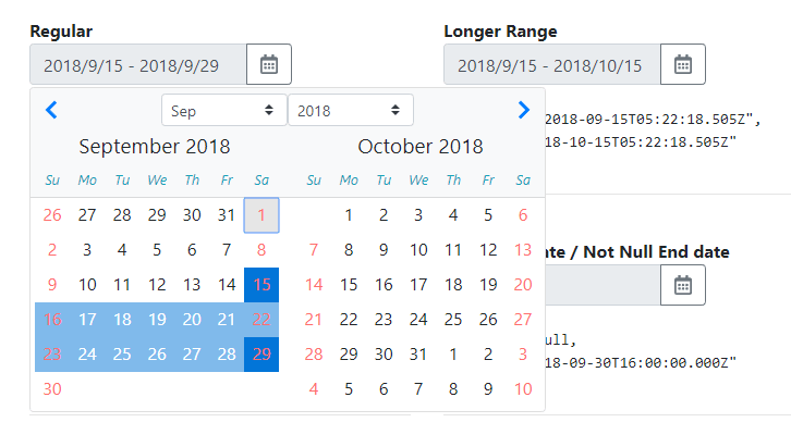 Date Range Picker With Angular And Bootstrap 4 | Angular Script
