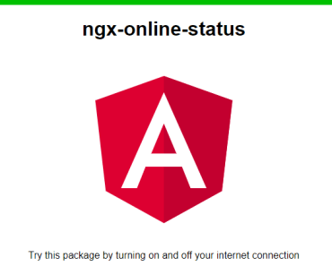 Detect Online Offline State In Angular - ngx-online-status