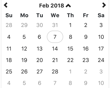 Native Angular Datetime Picker With Bootstrap 4