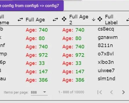 Angular Grid Virtual Scrolling