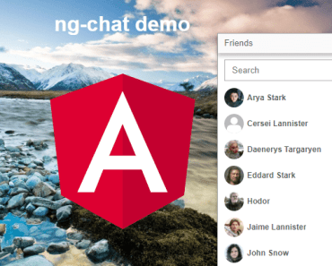 Facebook Linkedin Style Chat Component For Angular
