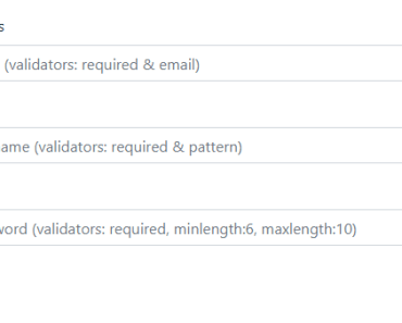 Angular 7+ Form Validator Library