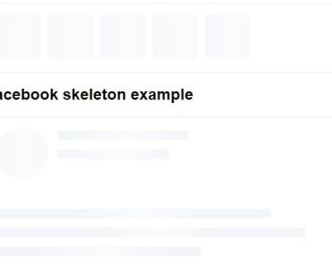 Beautiful Animated Skeleton Loader For Angular