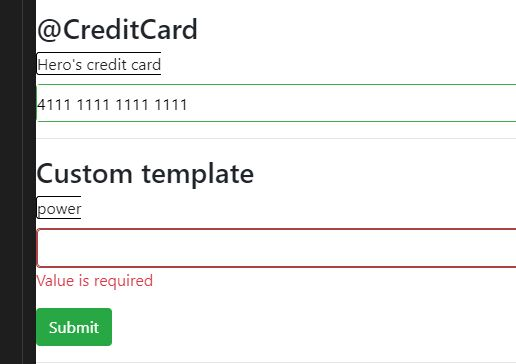 Template Driven Form Validation Library For Angular
