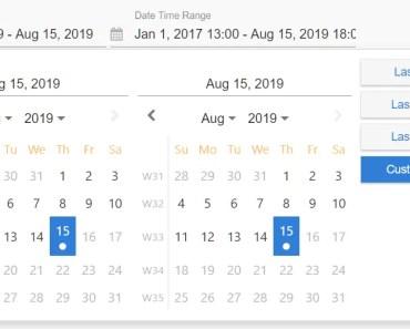 Material Datetime Range Picker For Angular