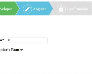 Angular 2 Multi-step Form Component | Angular Script