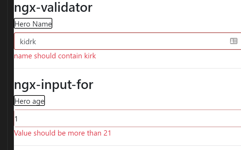 ngx-validator