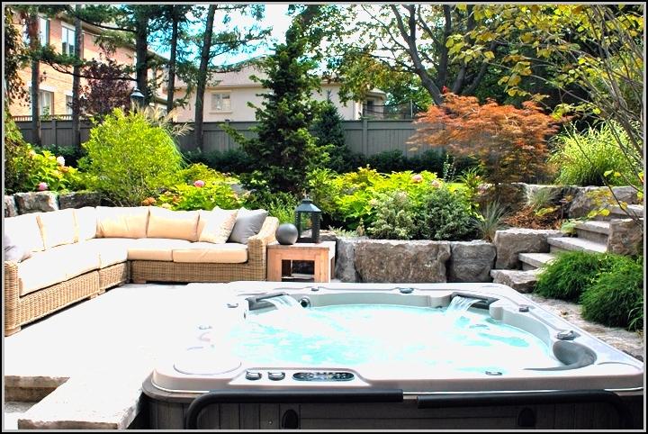 Backyard Patio Ideas With Hot Tub