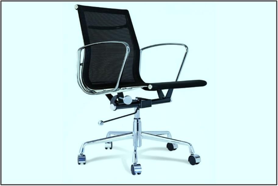 Black Eames Chair Replica