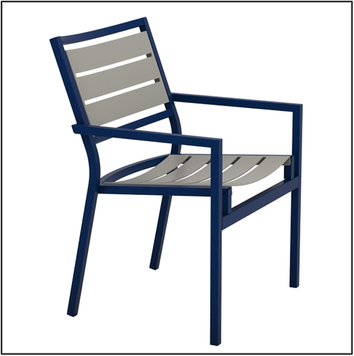 Metal Dining Chairs With Arms