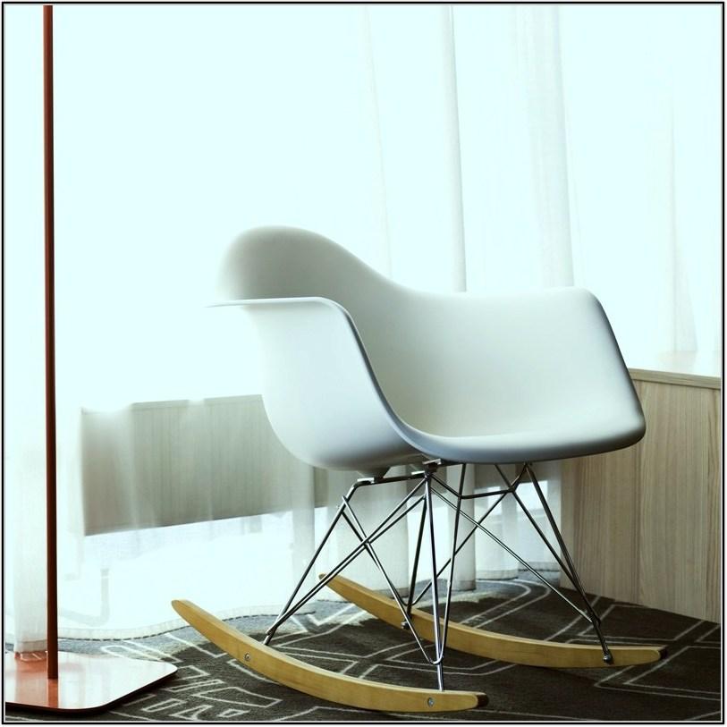 White Eames Chair Replica