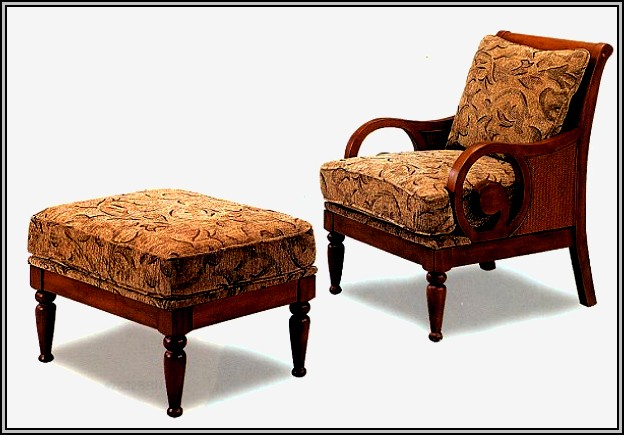 Accent Chairs With Arms And Ottomans