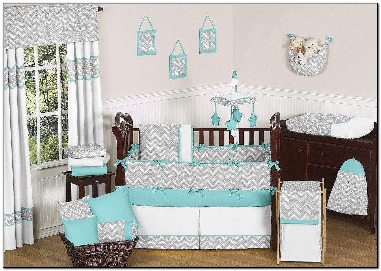 Baby Bedding Sets Turquoise