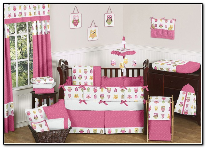 Baby Girl Bedding Sets Owls