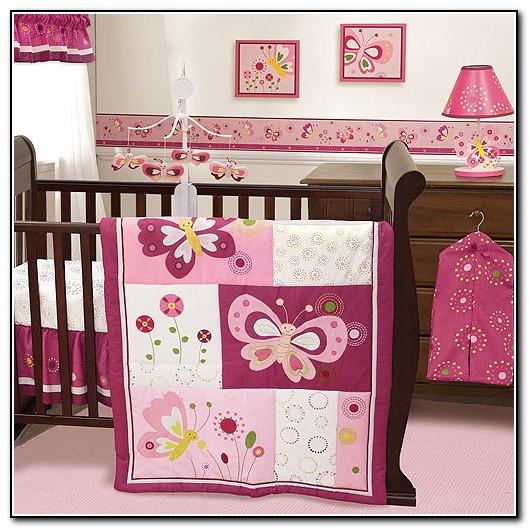 Baby Girl Crib Bedding Butterflies
