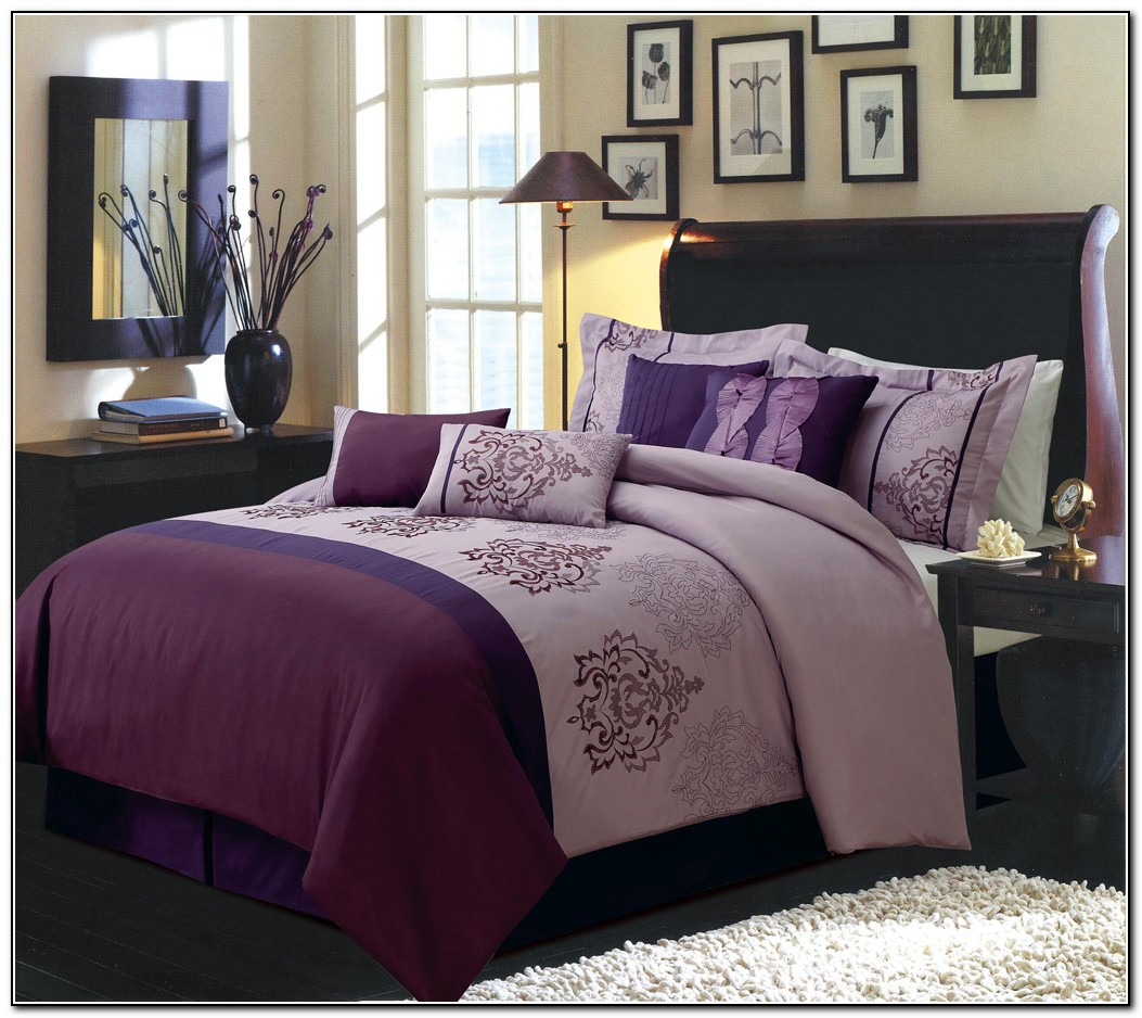 Bed In A Bag Purple