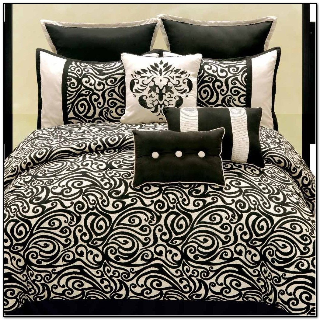 Black And White Bedding Full