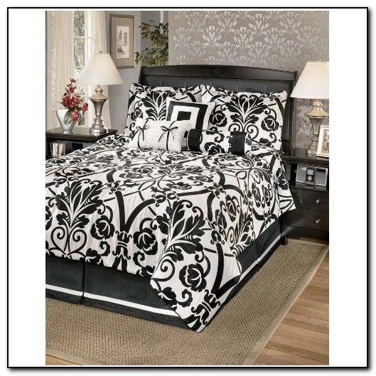 Black And White Bedding King