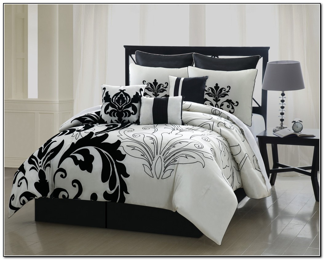 Black And White Bedding Queen