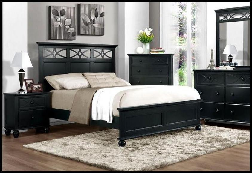 Black Bedroom Furniture Design Ideas