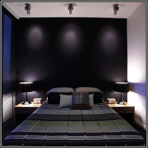 Black Bedroom Furniture Wall Color
