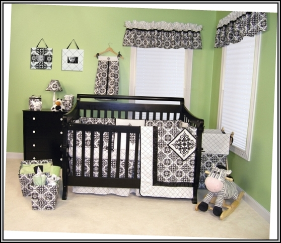 Black Nursery Furniture Sets