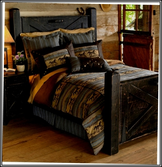 Black Rustic Bedroom Furniture
