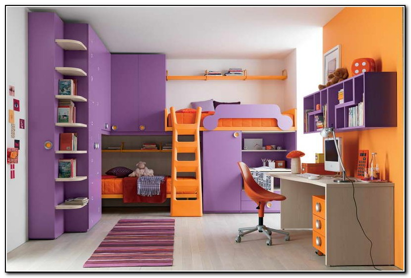 Bunk Bed With Desk And Sofa