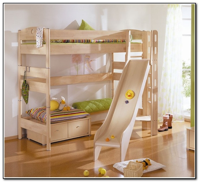 Bunk Beds For Kids With Slides