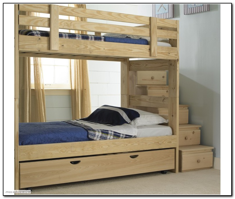 Bunk Beds With Stairs And Storage