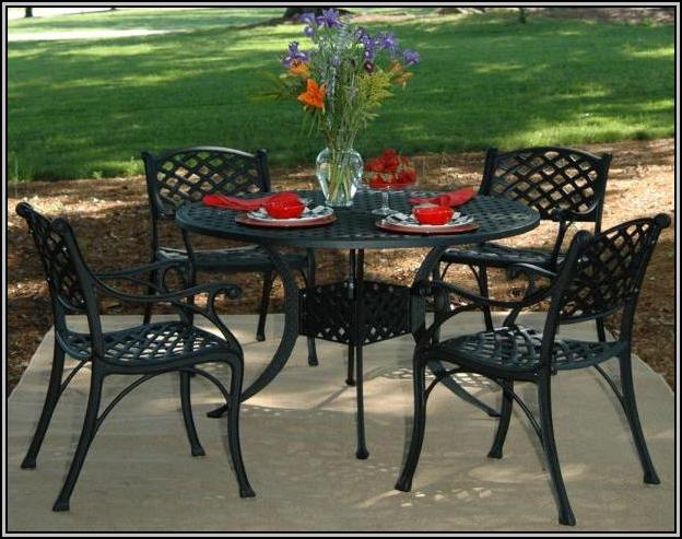 Cast Aluminum Patio Furniture Clearance