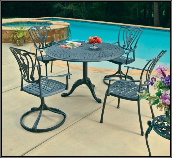 Cast Aluminum Patio Furniture Vs Wrought Iron