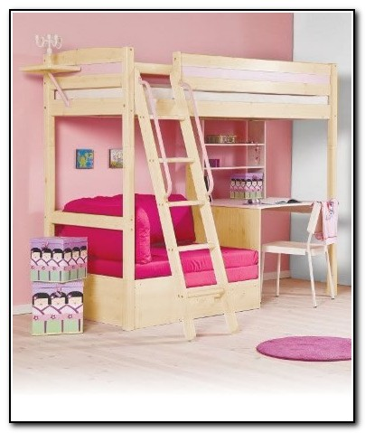 Cheap Bunk Beds With Desk Underneath
