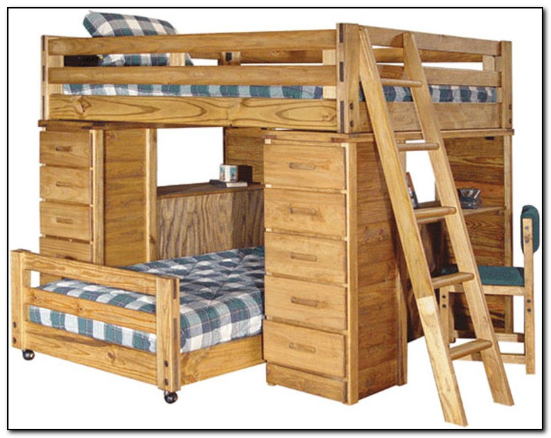 Cheap Bunk Beds With Desk