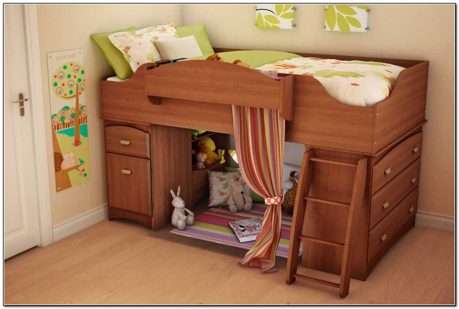 Cheap Bunk Beds With Storage