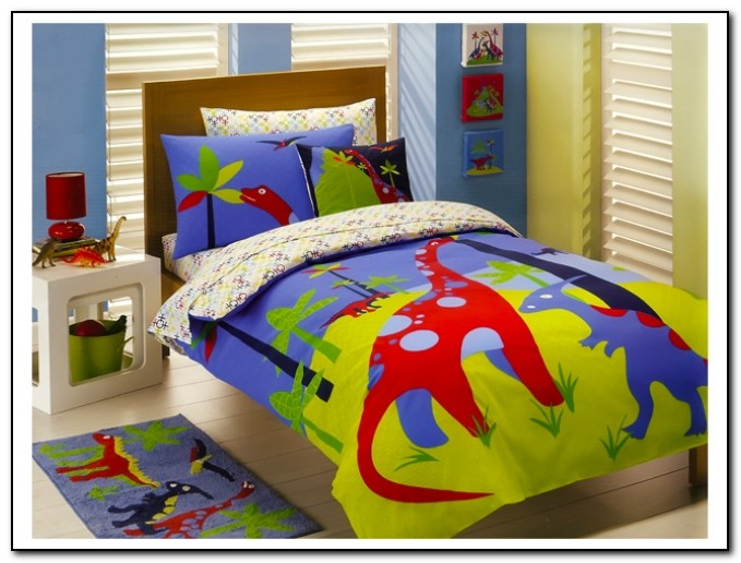 Dinosaur Toddler Bedding Sets