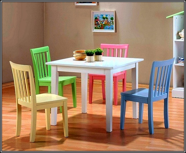 Diy Childrens Table And Chairs