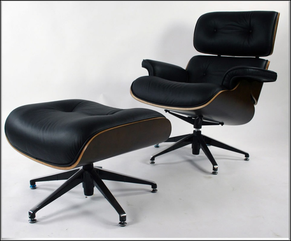 Eames Lounge Chair In Room