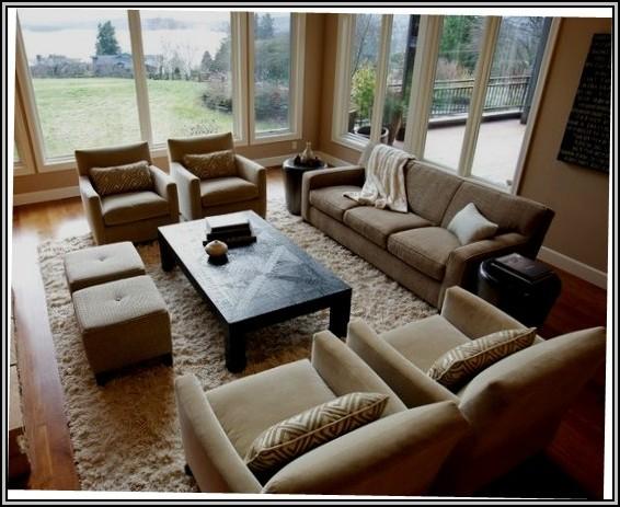 Family Room Furniture Arrangement