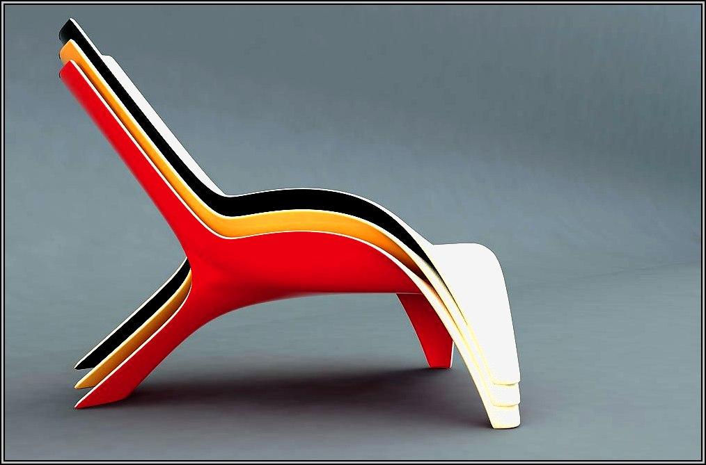 Fiberglass Pool Lounge Chairs