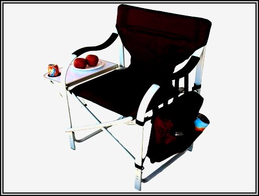 Folding Lawn Chairs With Side Table