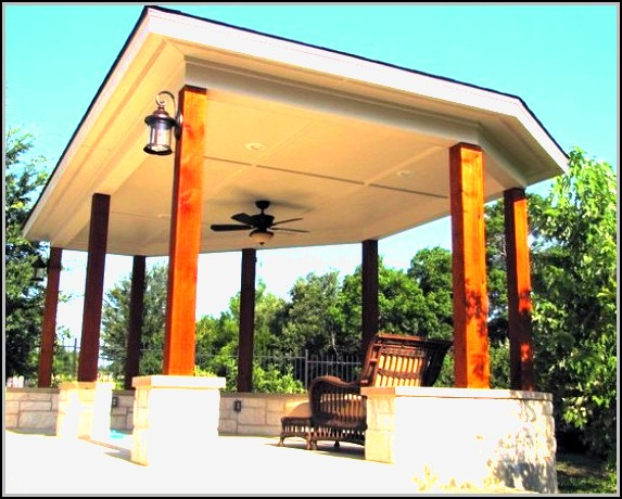 Free Standing Patio Cover Designs