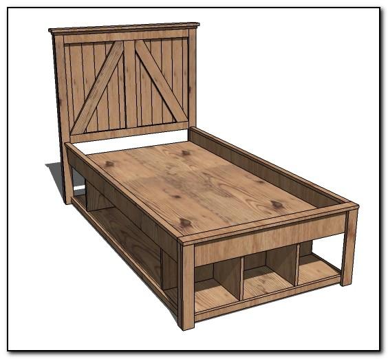 Full Size Bed Frame Plans