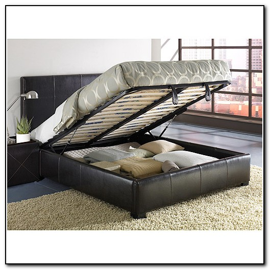 Full Size Bed Frame With Storage Underneath