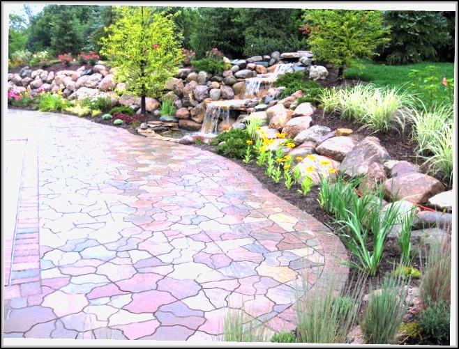 Garden Stone Patio Ideas